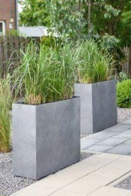 Elemento Ist Ein Pflanzk Bel Den Sie Idealerweise Als Raumteiler F R Die Terrasse Als Sichtschutz Planters Garden Design Ideas On A Budget Garden Projects