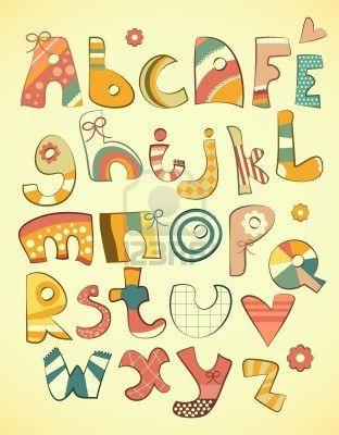 Alphabet Design Vector Illustration By Kearia Via ShutterStock