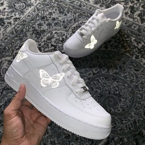 3M Limited HD Reflective Butterfly Air Force 1 | Aesthetic