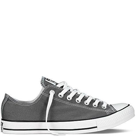 1a4b2173caf5a9 Converse Men s Chuck Taylor All Star Core Ox Charcoal SneakerCharcoal 8  D(M) US Men 10 B(M) US Women