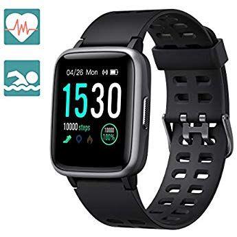 IP68 Wasserdicht Smartwatch Bluetooth Schrittzähler Armband Sportuhr Tracker DE