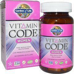 فيتامين كود للنساء منتجات اي هيرب Vitamin Code Whole Food Multivitamin Good Multivitamin For Women