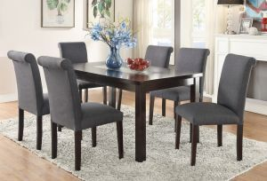 Espresso Marble Dining Sets In Houston Texas Dining Room Table Set Contemporary Dining Room Tables Round Dining Room Sets