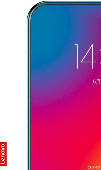 Lenovo teases a smartphone with over 95% screen to body