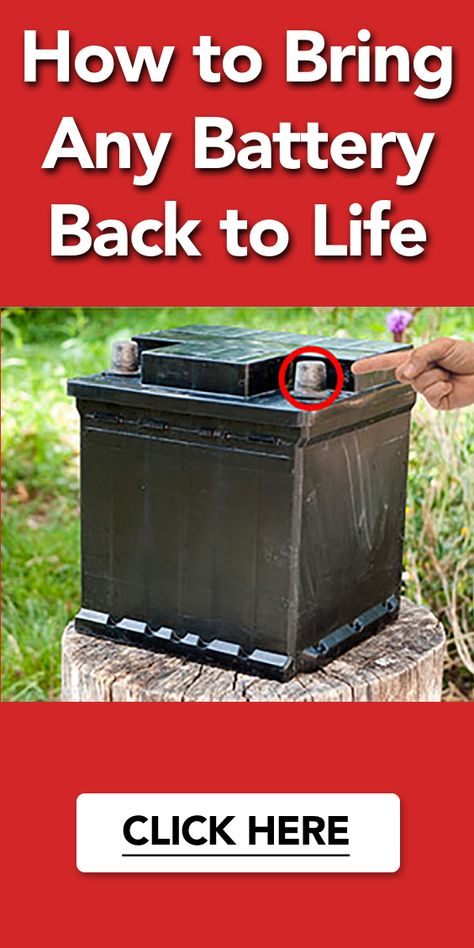 How to Bring Any Battery Back to Life?