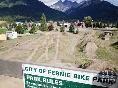 Fernie Bike Park Fernie Bc Pinterest Cyklar Och Parks