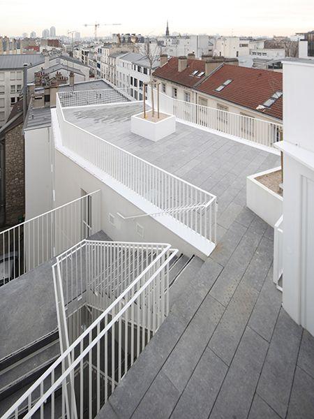 Logement Sociaux Rue Myrha Secteur Château Rouge Lutte