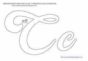 Moldes De Letras Cursivas Mayusculas Y Minusculas Material Educativo Molde Alfabeto Alfabeto Monograma Alfabeto Cursivo
