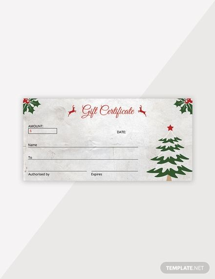 Elegant Christmas Gift Certificate Template Free Pdf Word Psd Apple Pages Google Docs Publisher Christmas Gift Certificate Christmas Gift Certificate Template Gift Certificate Template