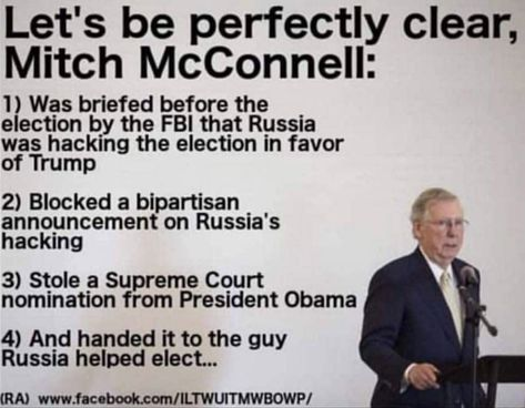 #MitchMcConnell #NeverForget #RepubliCON