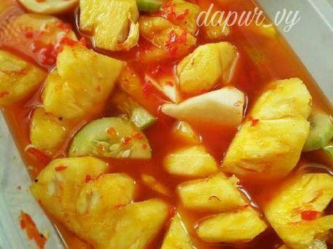 Resep Asinan Buah Pedas Manis Asem Seger Oleh Dapurvy Resep Resep Makanan Dan Minuman Resep Masakan