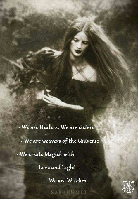 We Are Witches Wiccan Witch Witch Wicca