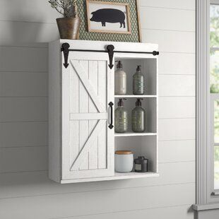The Twillery Co Eleanor 34 1 W X 38 3 H Over The Toilet Storage Wayfair Wall Mounted Cabinet Bathroom Wall Cabinets Wall Mounted Bathroom Cabinets