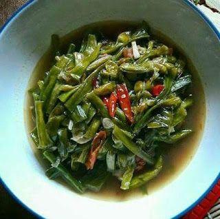 Cara Memasak Genjer Agar Tidak Pahit Untuk Resep Tumis Food Green Beans Vegetables