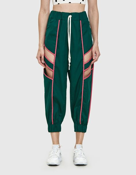 Sbieco Cutout Track Pant