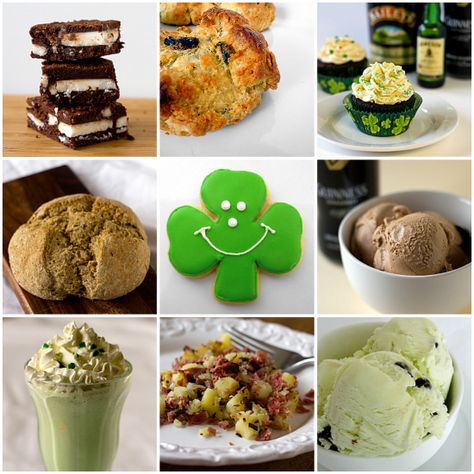 15 St. Patrick's Day Recipes by Brown Eyed Baker