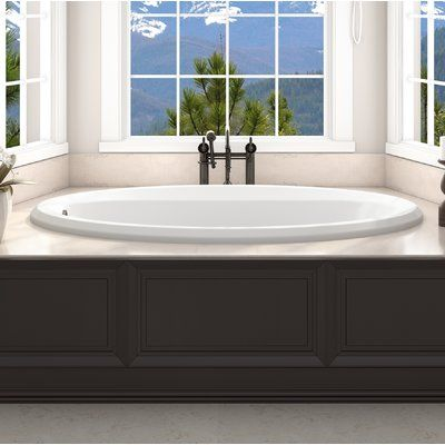 Jacuzzi Signature 72 X 36 Drop In Whirlpool Bathtub In 2020