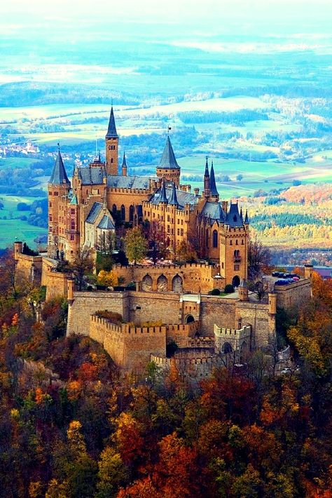 Hohenzollern Castle, Germany The ancestral seat of the Imperial House of Hohenzollern and one of the most visited castles in Germany