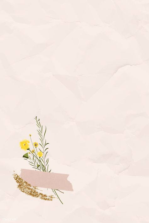 Blank crumpled pink paper with washi tape template vector | premium image by rawpixel.com / NingZk V.