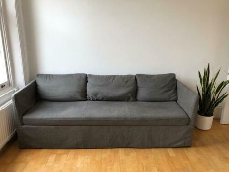 Three Seater Sofa Brathult Ikea Perfect Condition Comfortably Seats 3 Ebay Three Seater Sofa Seater Sofa Sofa