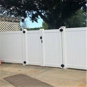 Xpanse Select Vinyl Railing 2 Ft H X 4 Ft W Fretwork Fence Panel Wayfair Vinyl Gates Vinyl Fence Panels Fence Design