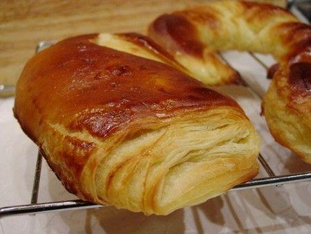 Pâte à viennoiseries (pain au chocolat, croissants)