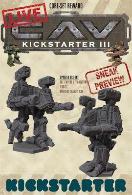15+ Cav kickstarter info