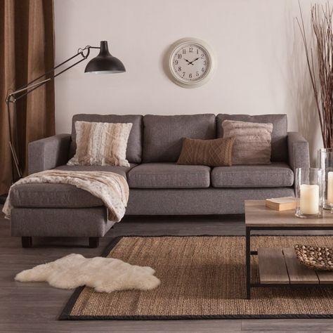 CASA Corner Sofa (Grey) Jysk