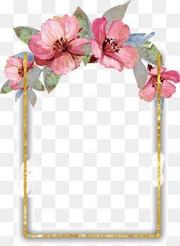 Image Result For Flower Frames Watercolor Flowers Free Watercolor Flowers Flower Png Images