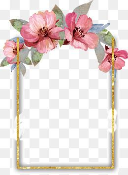 Image Result For Flower Frames Free Watercolor Flowers