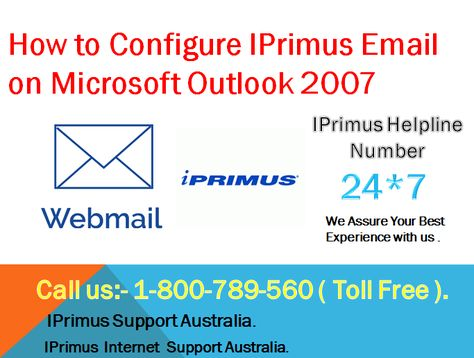 Are you trying to Configure or register an IPrimus Webmail Account