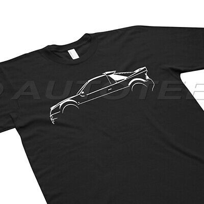 Autotees Car T Shirt For Ford Rs200 Group B Classic Car
