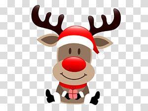 Rudolf The Red Nose Reindeer Illustration Rudolph Santa Claus S Reindeer Santa Claus S Reindeer Ch Christmas Reindeer Cartoon Reindeer Christmas Advertising