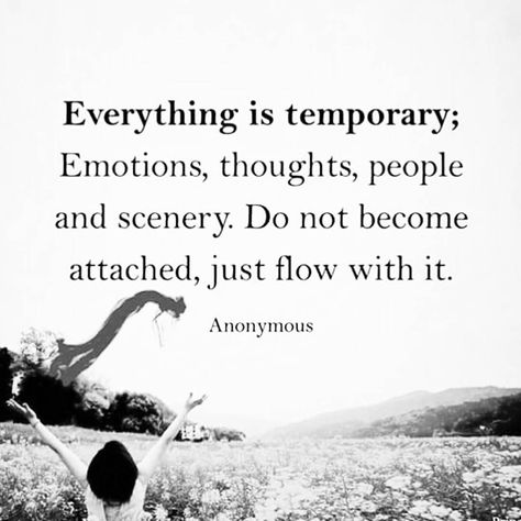 When we detach from hanging on to emotions that really only keep us in that space of pain, is when we are free to just be and flow with Life. <3 -Mary Long-