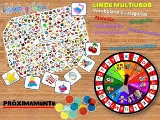 La Psico Goloteca Lince Multiusos Lince Juegos Ingles Infantil Juegos