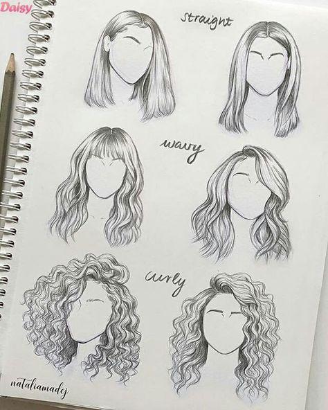 Desenhos Inspiracoes Desenhos Aleatorios Desenho De Cabelo