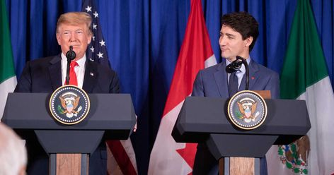 Twitter Is Ripping Justin Trudeau Apart For His Awkward Meeting With Donald Trump Today (VIDEO)