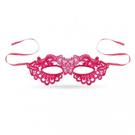 Maska Koronkowa Pink Vibes Pink Vibes Pink Band
