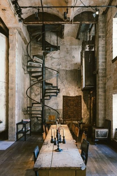 Hotel Emma In San Antonio By Roman And Williams Buildings And Interiors 6 Loft Design Industrial House House Design