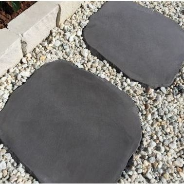 Babylon Stepping Stones Charcoal And Black Stepping Stone Pavers Stepping Stones Paver