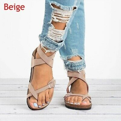 Platform Sandals for Womens Fashion Open Toe Ankel Strap Snakeskin Flats Beach Shoes Wedges Sandals Roman Shoes