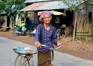 Cambodia. Merry Travel Asia. Stung Treng / Kratie trip