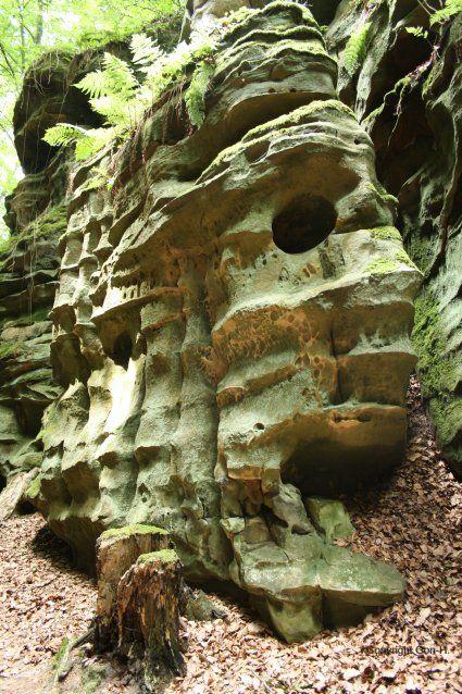 Die Landschaften: Eifel - Teufelsschlucht - GERMANY