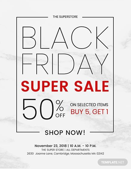 Free Black Friday Discount Flyer Template Word Doc Psd Apple Mac Pages Publisher Holiday Flyer Template Flyer Flyer Template