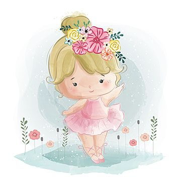 Linda Bailarina Clipart De Bailarina Bebe Animal Imagem Png E Vetor Para Download Gratuito In 2021 Kids Vector Little Ballerina Baby Clip Art