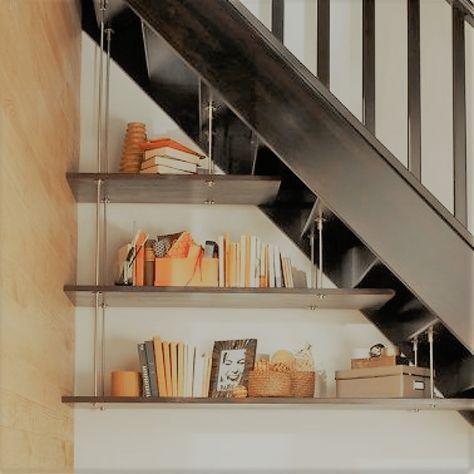 Ist Unter Der Treppe Noch Platz Mit Einem Regal Kann Diese Ecke Nett Hergerichtet Wer Stauraum Unter Der Treppe Zuhause Dekoration Innenarchitektur Wohnzimmer