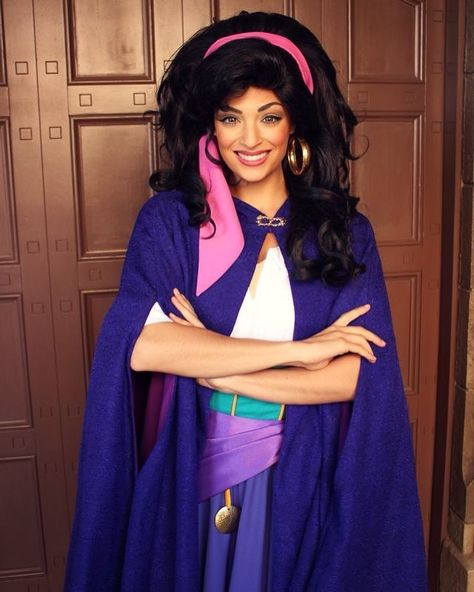 Disney Character Cosplay Esmeralda from The Hunchback of Notre Dame Cosplay