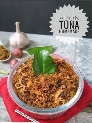 Abon Tuna Resep Makanan Asia Resep Masakan Resep Tuna
