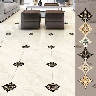 21 Pcs Set Ceramic Tile Stickers Self Adhesive Tiles Art Diagonal 3d Floor Stick Adhesive Art Ceramic Diagonal In 2020 Floor Stickers Durable Tiles Sticker Decor