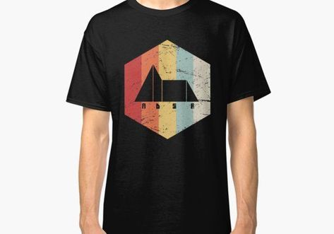 'Retro Synthesizer ADSR' Classic T-Shirt by E D